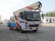 Sinotruk Huawin aerial work platform truck SGZ5100JGKZZ4