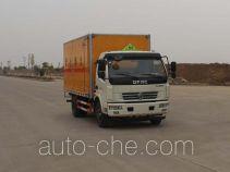 Sinotruk Huawin flammable solid goods transport van truck SGZ5118XRGDFA4