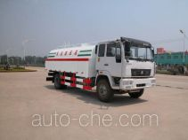 High pressure road washer truck