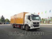 Sinotruk Huawin flammable liquid transport van truck SGZ5250XRYZZ5T5T