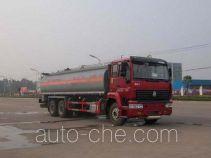 Sinotruk Huawin chemical liquid tank truck SGZ5250GHYZZ3J44