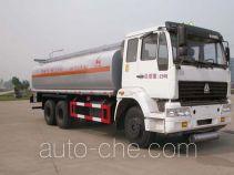 Sinotruk Huawin chemical liquid tank truck SGZ5250GHYZZ3J52