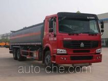 Sinotruk Huawin chemical liquid tank truck SGZ5250GHYZZ3W