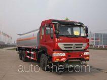 Sinotruk Huawin flammable liquid tank truck SGZ5250GRYZZ4J44