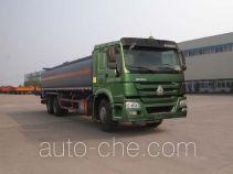Sinotruk Huawin flammable liquid tank truck SGZ5250GRYZZ4W52