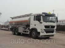 Sinotruk Huawin aluminium oil tank truck SGZ5250GYYZZ4G46