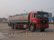 Sinotruk Huawin chemical liquid tank truck SGZ5255GHYSX3