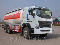 Sinotruk Huawin bulk powder tank truck SGZ5258GFLZZ3W521