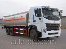 Sinotruk Huawin chemical liquid tank truck SGZ5258GHYZZ3W461