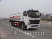 Sinotruk Huawin chemical liquid tank truck SGZ5258GHYZZ3W521