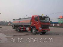 Sinotruk Huawin chemical liquid tank truck SGZ5258GHYZZ3W581
