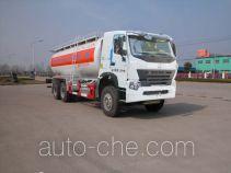 Sinotruk Huawin bulk powder tank truck SGZ5259GFLZZ3W521