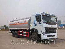 Sinotruk Huawin chemical liquid tank truck SGZ5259GHYZZ3W461