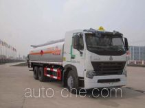 Sinotruk Huawin chemical liquid tank truck SGZ5259GHYZZ3W521