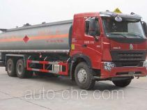 Sinotruk Huawin chemical liquid tank truck SGZ5259GHYZZ3W581