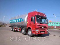 Sinotruk Huawin low-density bulk powder transport tank truck SGZ5310GFLZZ4W46L