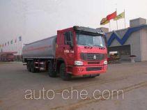 Sinotruk Huawin chemical liquid tank truck SGZ5310GHYZZ3W