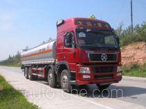 Sinotruk Huawin flammable liquid tank truck SGZ5310GRYDY3