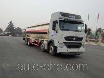 Sinotruk Huawin pneumatic discharging bulk cement truck SGZ5310GXHZZ5T7