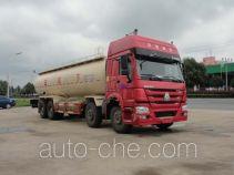 Sinotruk Huawin pneumatic discharging bulk cement truck SGZ5310GXHZZ5WL