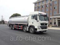 Oilfield fluids tank truck