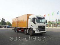 Sinotruk Huawin flammable liquid transport van truck SGZ5310XRYZZ5T5