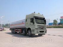 Sinotruk Huawin flammable liquid tank truck SGZ5311GRYZZ4W
