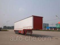 Sinotruk Huawin curtainsider trailer SGZ9320XXY