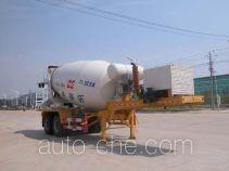 Sinotruk Huawin concrete mixer trailer SGZ9340GJB