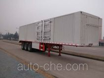Sinotruk Huawin box body van trailer SGZ9401XXYA