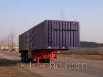 Sinotruk Huawin box body van trailer SGZ9402XXY