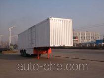Sinotruk Huawin box body van trailer SGZ9403XXYA