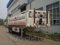Bolong high pressure gas long cylinders transport trailer SJL9380GGY