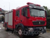 Wuyue fire rescue vehicle TAZ5144TXFJY90