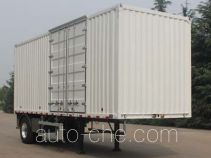 Wuyue box body van trailer TAZ9184XXYA
