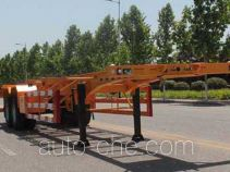 Wuyue container transport trailer TAZ9354TJZ