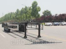 Wuyue container transport trailer TAZ9354TJZA