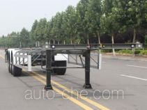 Wuyue container transport trailer TAZ9354TJZB
