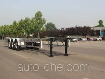 Wuyue container transport trailer TAZ9354TJZD