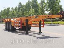 Wuyue container transport trailer TAZ9404TJZC