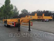 Wuyue container transport trailer TAZ9404TJZD