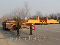 Wuyue container transport trailer TAZ9404TJZF