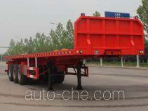 Wuyue flatbed trailer TAZ9404TPBD