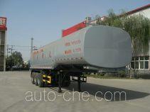Huaren chemical liquid tank trailer XHT9401GHY