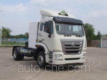 Sinotruk Hohan dangerous goods transport tractor unit ZZ4185V4216E1LW