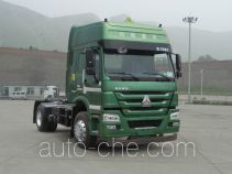 Sinotruk Howo dangerous goods transport tractor unit ZZ4187N3617D1W