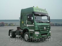 Sinotruk Howo dangerous goods transport tractor unit ZZ4187N3617E1W