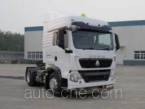 Sinotruk Howo dangerous goods transport tractor unit ZZ4187N361GE1W