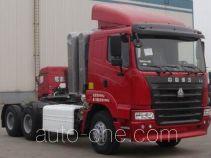 Sinotruk Hania container transport tractor unit ZZ4255M3845C1CZ