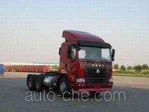 Sinotruk Hania container transport tractor unit ZZ4255N2945C1Z